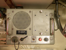 Marine Intercom Royaltyfria Foton