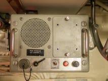 Marine Intercom. An old intercom as used on an old war ship or submarine Royalty Free Stock Photos