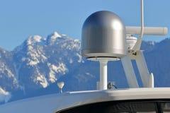 Marine Internet e tecnologia di telecomunicazioni immagini stock libere da diritti