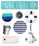 Marine items. Royalty Free Stock Photos