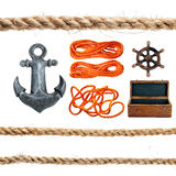 Marine items. Royalty Free Stock Images