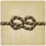Marine knot background Royalty Free Stock Images