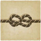 Marine knot background. Vector illustration. eps 10 Royalty Free Stock Images