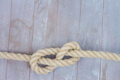 Marine knot Stock Images