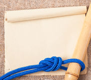 Marine knot Royalty Free Stock Images