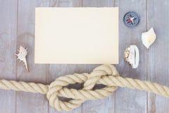 Marine knot Royalty Free Stock Photo