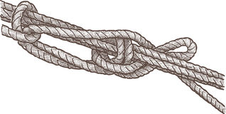 Marine knot Royalty Free Stock Photo