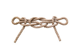 Marine knots isolated royalty free stock images
