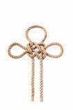 Marine knots isolated royalty free stock photo