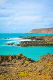 Rocks of Cape Verde, Africa Royalty Free Stock Image