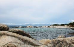Marine landscape, Aegean sea. Marine landscape near Greek coastline royalty free stock photo