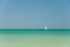 Marine landscape at Gulf of Mexico Stock Image