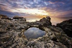 Marine landscape from Tjulenovo village, Bulgaria, Eastern Europe Stock Images