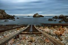 Marine landscape from Tjulenovo village, Bulgaria, Eastern Europe Royalty Free Stock Photography
