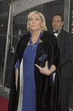 Marine Le Pen Arrives 2015 na gala do tempo 100 Fotografia de Stock