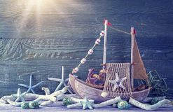 Marine life decoration Royalty Free Stock Photography