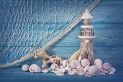 Marine life decoration Royalty Free Stock Image