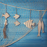 Marine life decoration Stock Photography