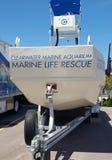 Marine Life Rescue Boat Imagens de Stock