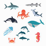 Marine Life Vector Design Illustration vector illustratie