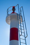 Marine Light Beacon Royaltyfria Bilder