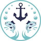 Marine Logo Royalty Free Stock Image