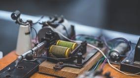 Marine Mechanical Circuit Technology náutica imagen de archivo libre de regalías