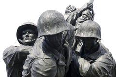 Marine Memorial Iwo Jima. Fighting for freedom Stock Photo