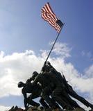Marine Memorial Iwo Jima. Fighting for freedom Stock Photos