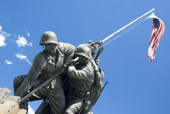 Marine Memorial Iwo Jima Stock Photo