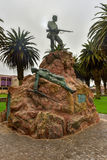 Marine Memorial - Swakopmund, Namibia Stock Photo