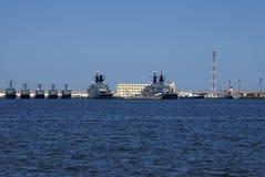 Marine militaire roumaine chez la Mer Noire Image stock