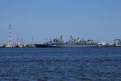 Marine militaire roumaine chez la Mer Noire Images stock
