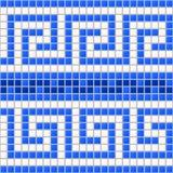 Marine Mosaic antiga Fotografia de Stock Royalty Free