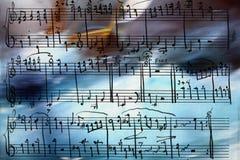 Marine music Royalty Free Stock Image