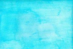 Marine- oder Marineblauaquarellsteigungs-Füllehintergrund Watercolourflecke Zusammenfassung gemalte Schablone mit Papierbeschaffe