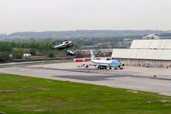 Marine One och Air Force One Royaltyfri Foto
