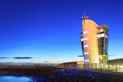 Marine Operations Centre på den Pocra kajen, norr pir Royaltyfri Fotografi