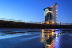 The Marine Operations Centre at Pocra Quay, North Pier. In Aberdeen Scotland Stock Photos