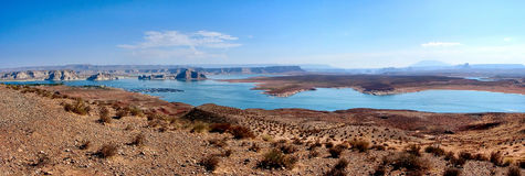 Marine panorama. At Page, Arizona, U.S.A stock image