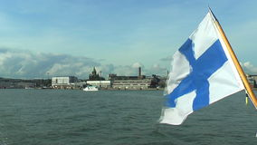Marine panorama of Helsinki Royalty Free Stock Photography