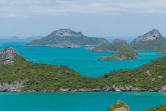 Marine Park: AngThong Marine National Park Viewpoint Stock Image