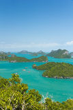 Marine Park: AngThong Marine National Park Viewpoint Royalty Free Stock Photo