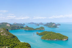 Marine Park: AngThong Marine National Park Viewpoint Stock Images