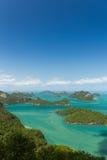Marine Park: AngThong Marine National Park Viewpoint Stock Images