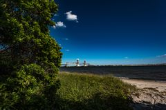 Marine Parkway–Gil Hodges Memorial Bridge stock image
