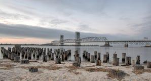 Marine Parkway-Gil Hodges Memorial Bridge - Queens, NY Royaltyfri Foto