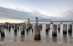Marine Parkway-Gil Hodges Memorial Bridge - Queens, NY Arkivbilder