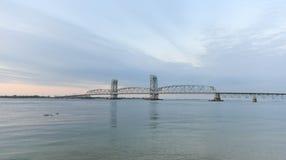 Marine Parkway-Gil Hodges Memorial Bridge - Queens, NY Royaltyfria Bilder