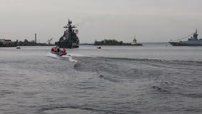 Marine patrol Stock Photography